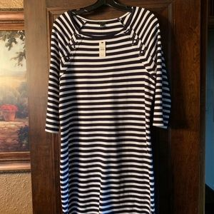Talbots sweater dress size large new with tags!